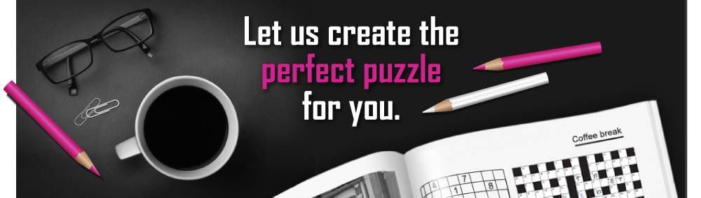 Fun Paper Games - Let us create the perfect puzzle or game for you.